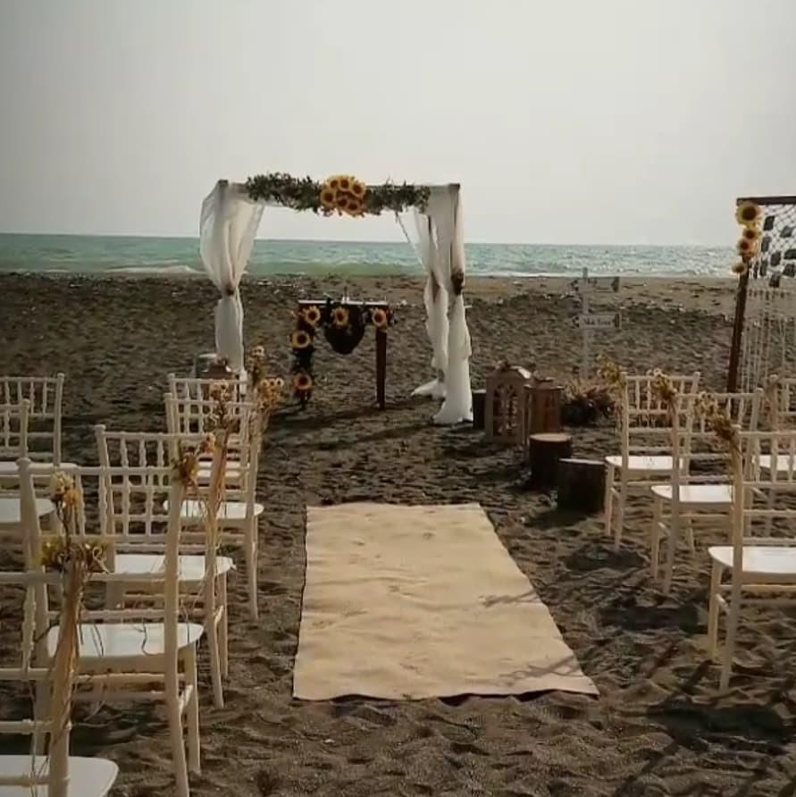 Kumsalda Düğün Organizasyonu
