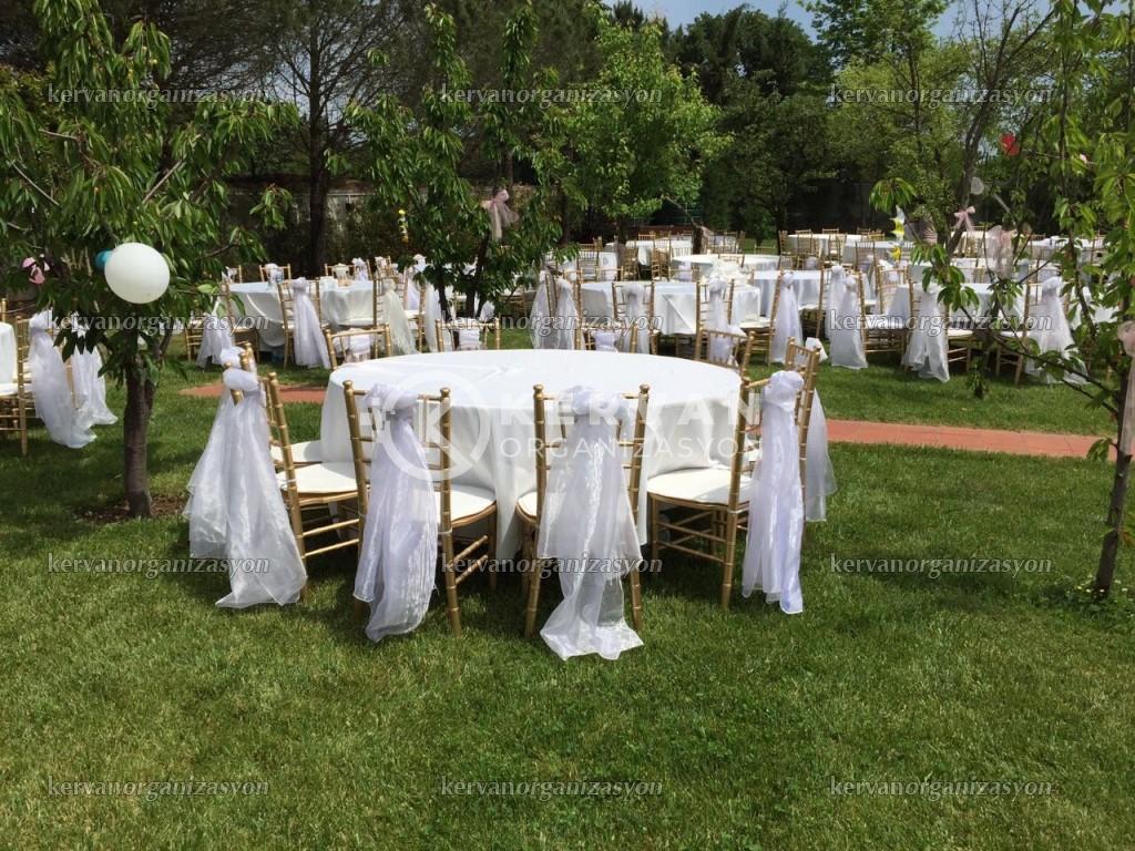 Bahçede ve Kırda Düğün Nişan Organizasyon