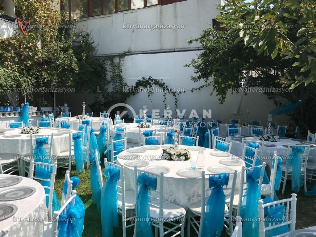 Bahçede Sünnet Düğünü Organizasyon