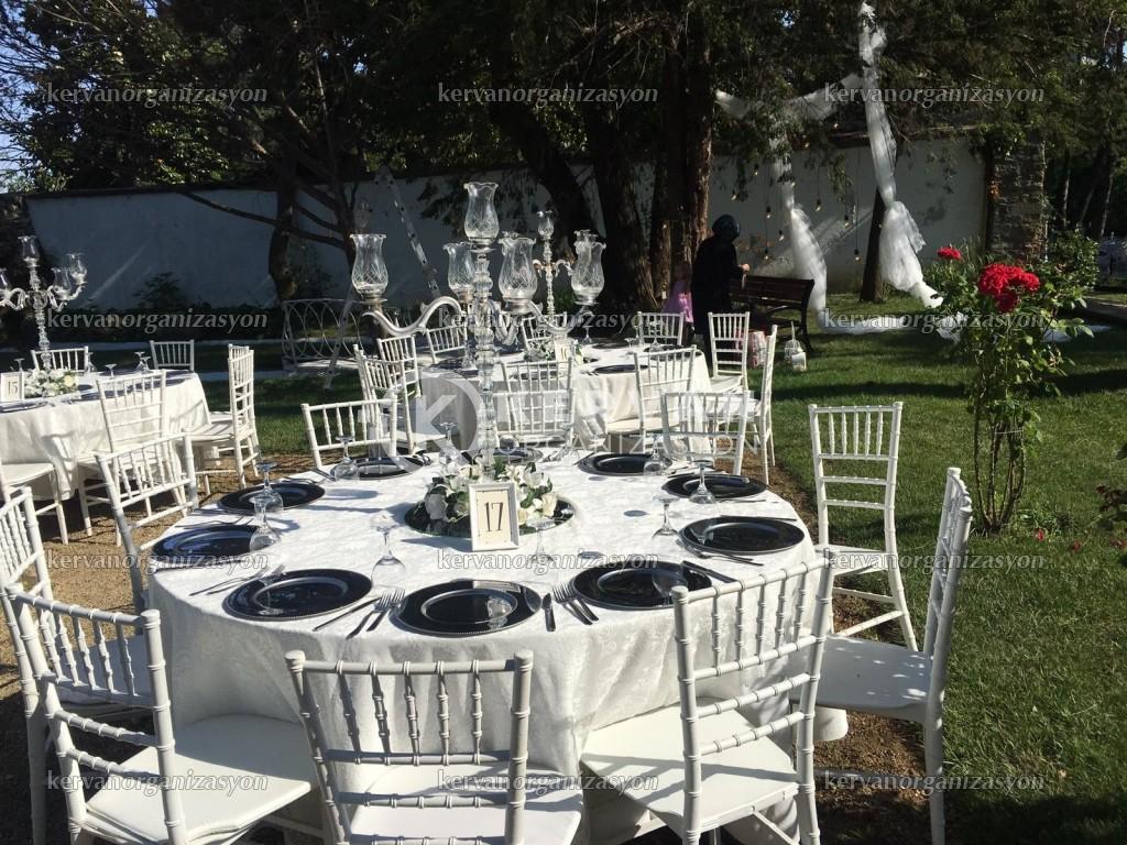 Bahçede Düğün Organizasyon