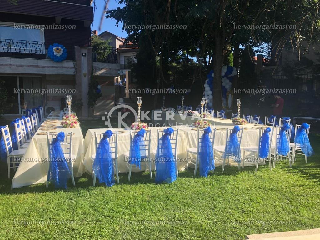 Bahçede Sünnet Düğünü Organizasyonları