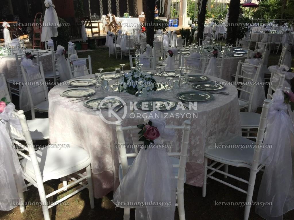 Bahçede Düğün Organizasyonları