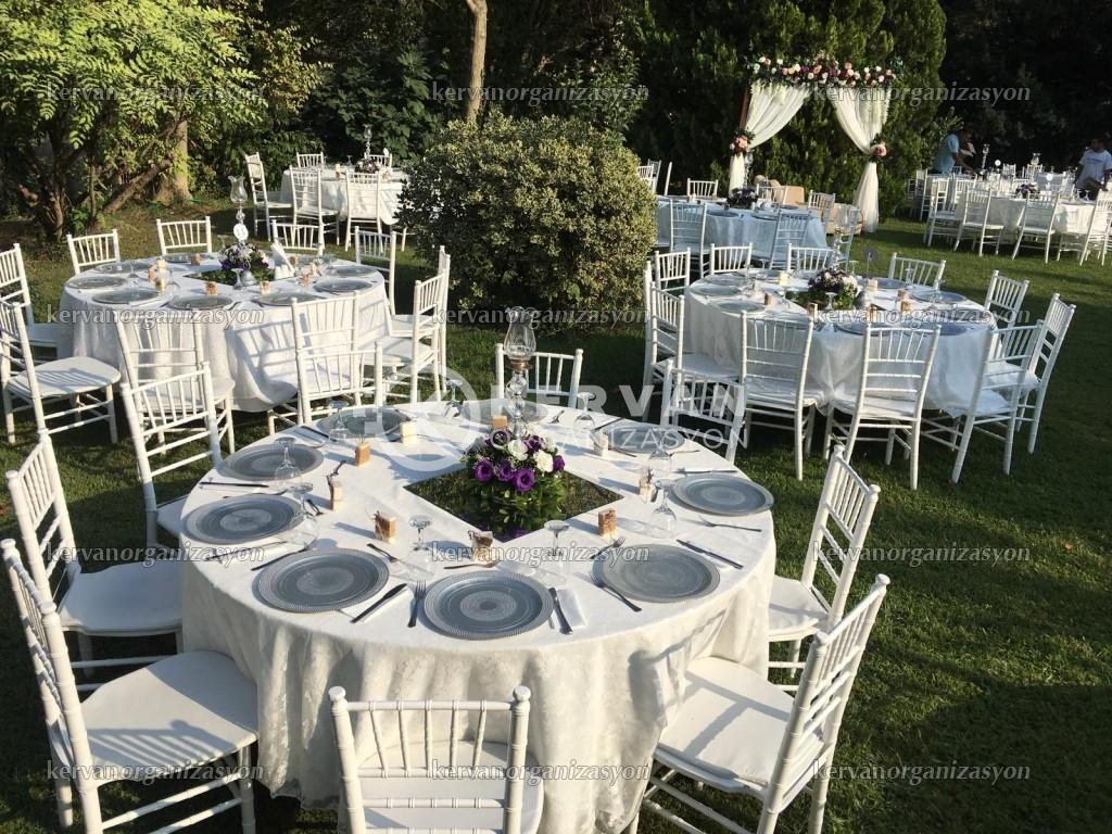 Bahçede Düğün Organizasyonu