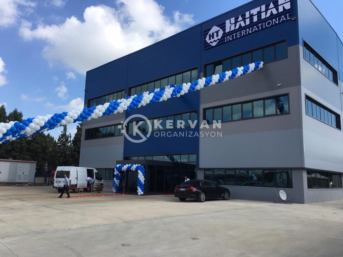 Fabrika Açılış Organizasyonu Balon Süsleme