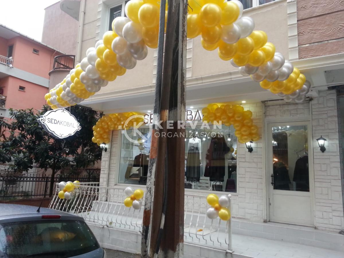 Mağaza Açılışı Balon Süsleme