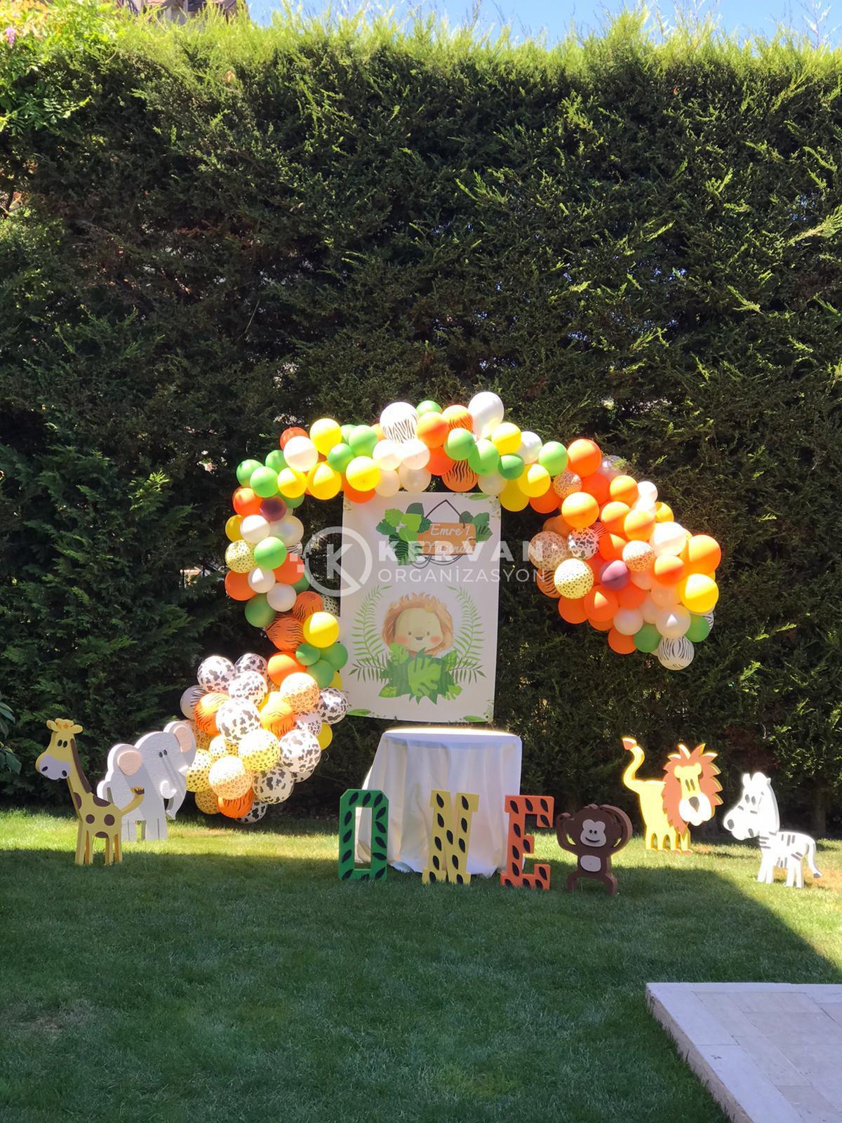 Doğum Günü Partisi Balon Süslemeleri