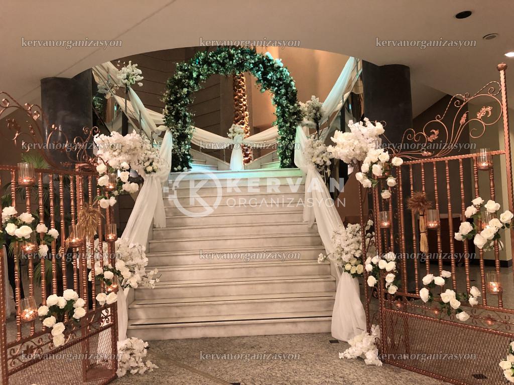 Düğün Organizasyonu Giriş Süsleme