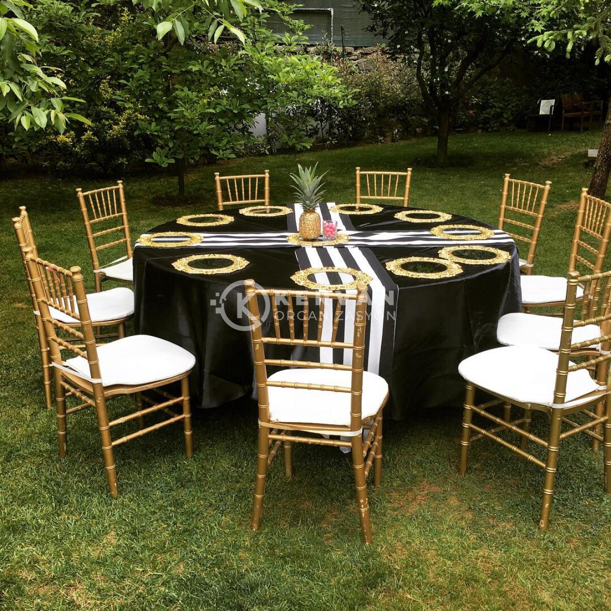 Gold Konsept Kır Düğünü Organizasyonu