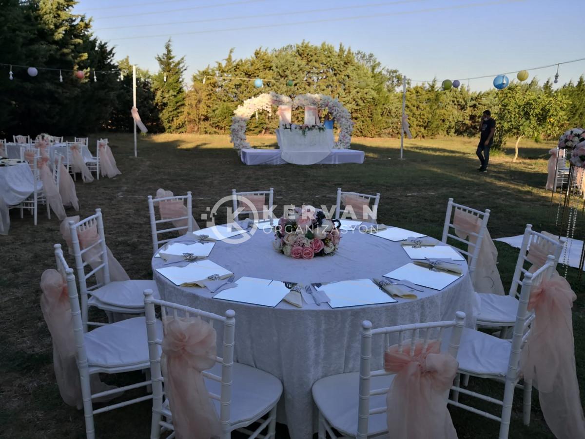 Kır Düğünü Organizasyonu Kurulumu