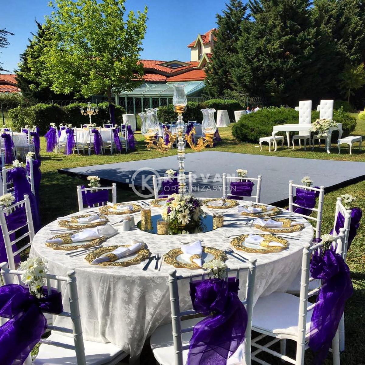 Kır Düğünü Süslemeleri