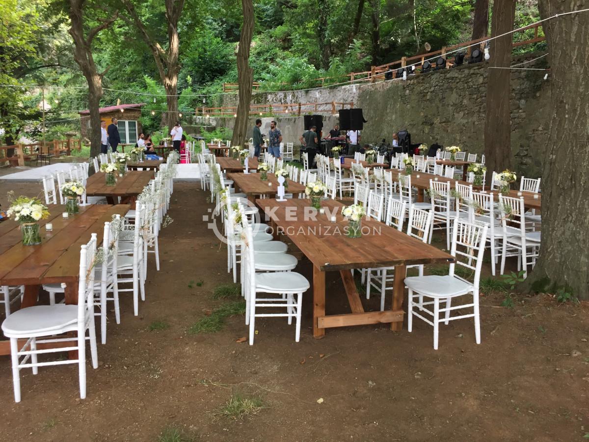 Sarıyer Kır Düğünü Organizasyonu