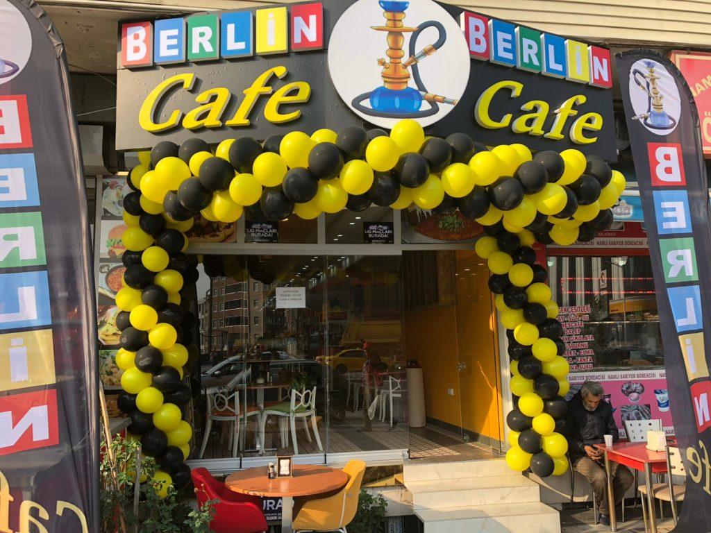 Cafe Açılış Organizasyonu