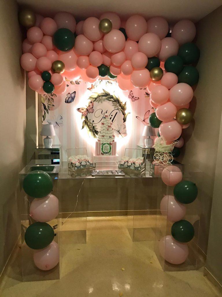 Doğum Günü Masası Balon Süsleme
