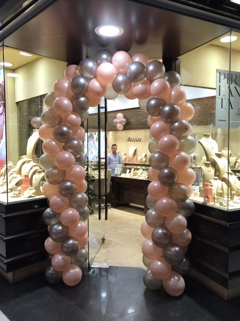 Kuyumcu Mağazası Balon Süsleme