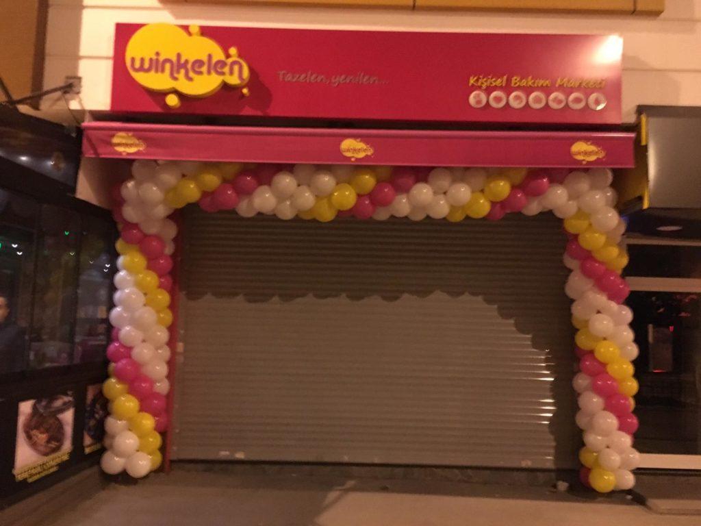 Mağaza Balon Süsleme