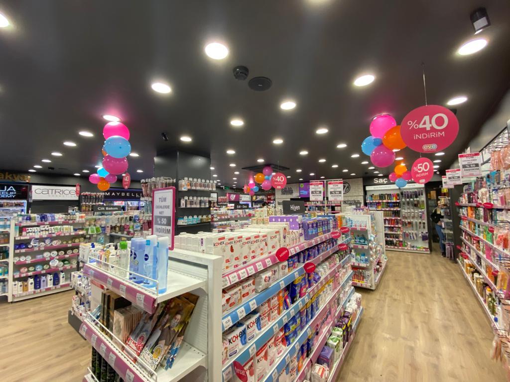 Mağaza İçi Balon Süsleme