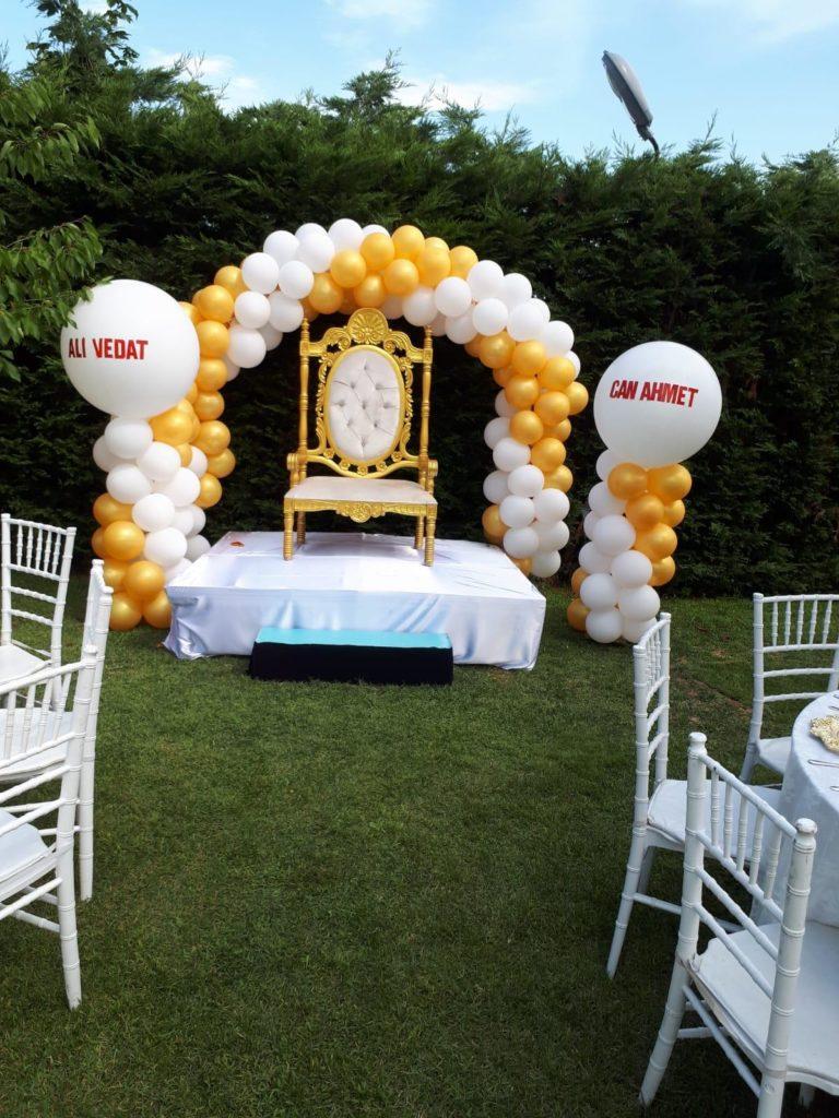 Sünnet Düğünü Balon Süslemesi