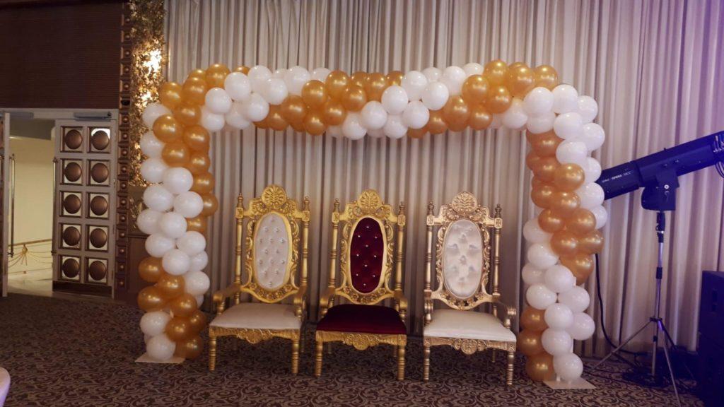 Sünnet Düğünü Taht Balon Süslemeleri