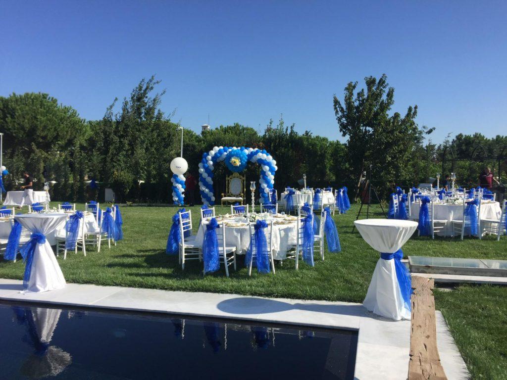 Sünnet düğünü balon dekorasyonu