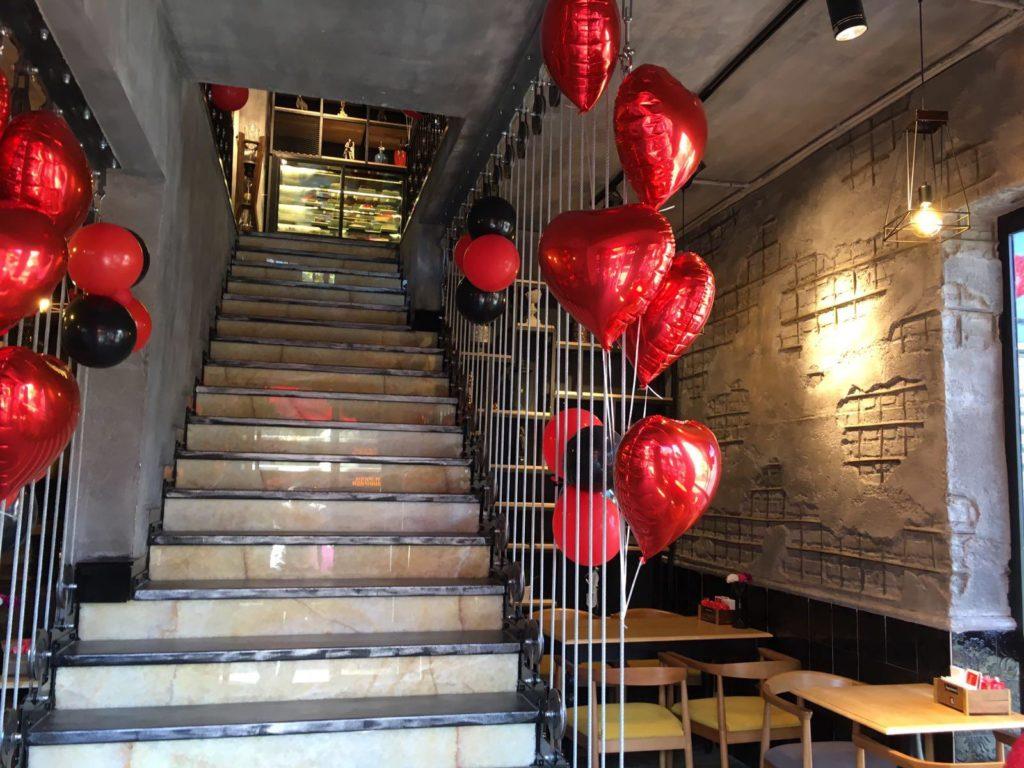 Uçan Balon dekorasyonu